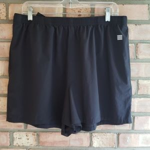 Black LANDS' END SHORTS good for swimming XL 18 20